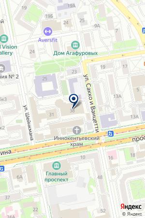 Сауна вСК Изумруд на карте Екатеринбурга