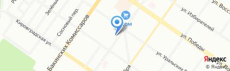 Школа плюс на карте Екатеринбурга
