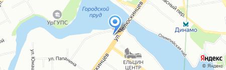 ОКПУР на карте Екатеринбурга