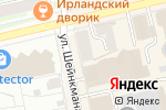 Схема проезда до компании VIVA в Екатеринбурге