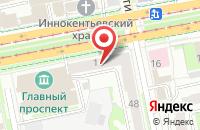 Схема проезда до компании Уральская Золото-Платиновая Компания в Екатеринбурге