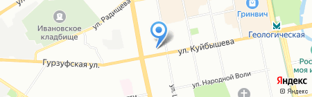 Урсула на карте Екатеринбурга