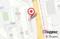 Схема проезда до компании Завод Кварцевых Концентратов в Екатеринбурге