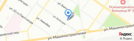 GRService на карте Екатеринбурга