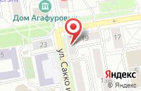 Схема проезда до компании Фабрика Комиксов в Екатеринбурге