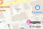 Схема проезда до компании Эврент в Екатеринбурге