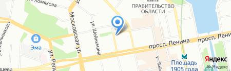 Мэри Кэй на карте Екатеринбурга