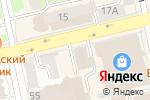Схема проезда до компании Мегафон Ритейл в Екатеринбурге