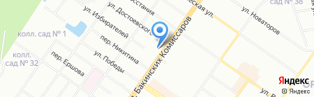 ТоргСтройПроект на карте Екатеринбурга