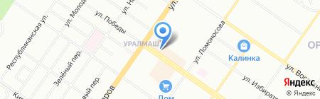Мактехно на карте Екатеринбурга