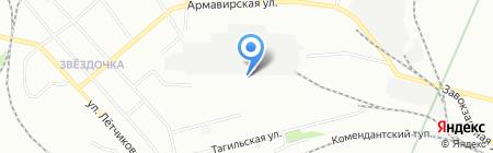 РосУралТекс на карте Екатеринбурга