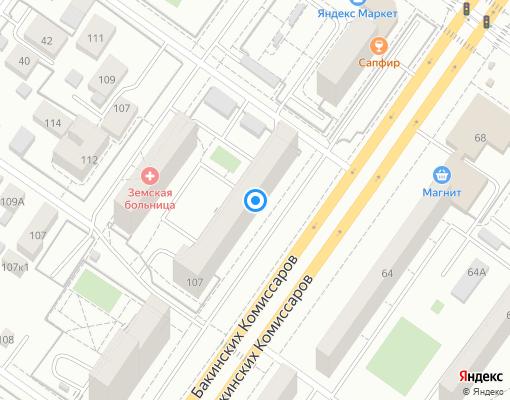 Товарищество собственников жилья «Энергия» на карте Екатеринбурга