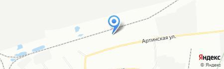 СовТранс на карте Екатеринбурга
