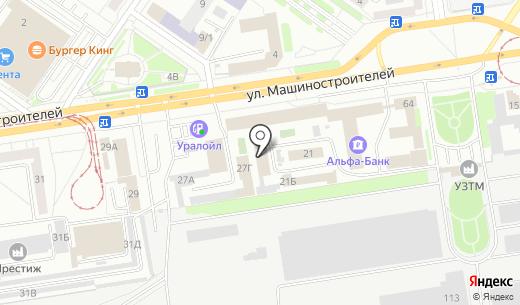 Бизнес Консультант. Схема проезда в Екатеринбурге