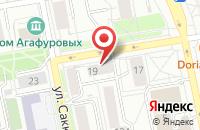 Схема проезда до компании Арт-Респект в Екатеринбурге