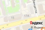 Схема проезда до компании Марусины Букеты в Екатеринбурге