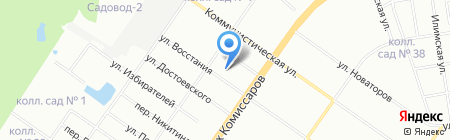 ЭНПА Системы безопасности на карте Екатеринбурга
