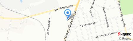 Банкомат Райффайзенбанк на карте Екатеринбурга
