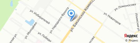 Соня на карте Екатеринбурга