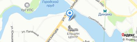 ПРОФИС на карте Екатеринбурга