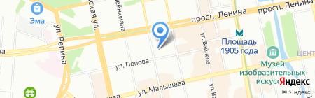 Меранти-Випорте на карте Екатеринбурга