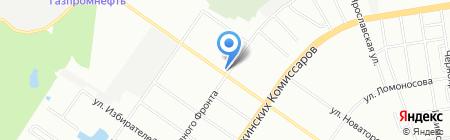 Гарант Чистоты на карте Екатеринбурга