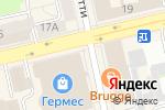 Схема проезда до компании Xi mens store в Екатеринбурге