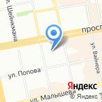 ГОСТИНАЯ Beauty на карте Екатеринбурга