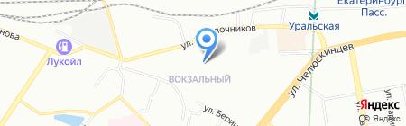 ЦИКЛОП-СБ на карте Екатеринбурга