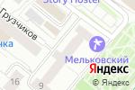 Схема проезда до компании Crazy Boom в Екатеринбурге