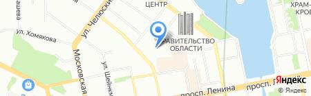 Транс-Эксперт на карте Екатеринбурга