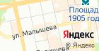 ИНРИС на карте