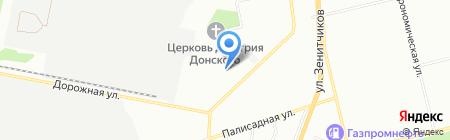 SV AUTO на карте Екатеринбурга