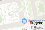 Схема проезда до компании Альфа в Екатеринбурге