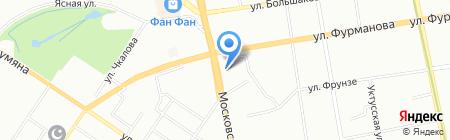 ГЛАВВЕНТ на карте Екатеринбурга