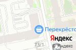 Схема проезда до компании Перекресток в Екатеринбурге
