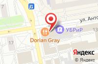 Схема проезда до компании Компас в Екатеринбурге