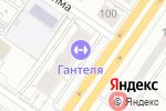 Схема проезда до компании GANTELЯ в Екатеринбурге
