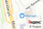 Схема проезда до компании Кэф в Екатеринбурге