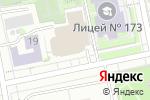 Схема проезда до компании Петербург в Екатеринбурге