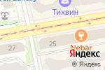 Схема проезда до компании Castor*ka в Екатеринбурге