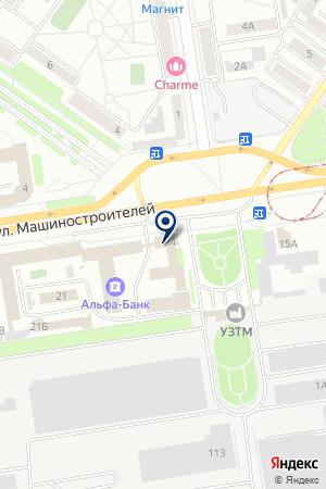 Баланс на карте Екатеринбурга