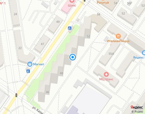 Товарищество собственников жилья «40 лет Октября 50» на карте Екатеринбурга