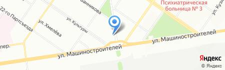 СтройТрэйд на карте Екатеринбурга