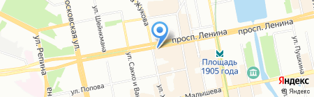 Шапки Всем на карте Екатеринбурга