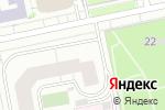 Схема проезда до компании Краснолесье в Екатеринбурге