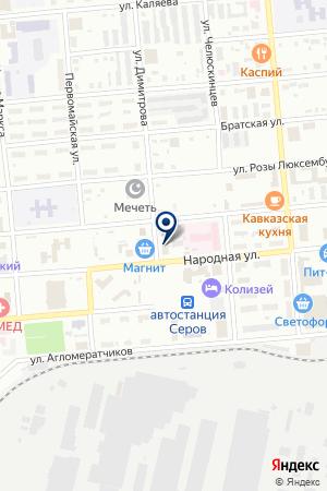 СПСР-ЭКСПРЕСС (ПРЕДСТАВИТЕЛЬСТВО) на карте Серова