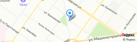 ЕЭСК на карте Екатеринбурга