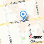 ON BAR на карте Екатеринбурга