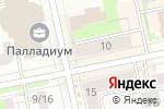 Схема проезда до компании Ювелирстокцентр в Екатеринбурге